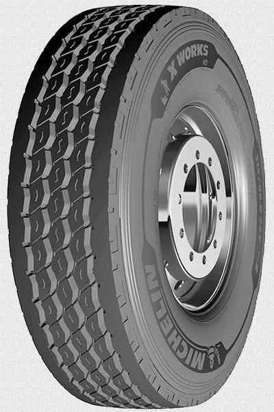 Шина 315/80 R 22.5 MICHELIN 156/150K X WORKS HD Z