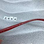 Стильные черные очки jimmy choo с красными дужками, фото 8