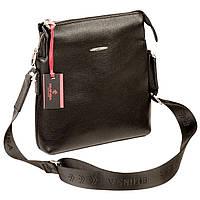 Чоловіча сумка Eminsa 6142-17-1 шкіряна чорна
