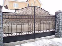 Кованые ворота art:03kv75