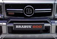 Накладка на передний бампер (верхняя) Mercedes Gelandewagen Brabus G800