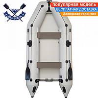 Моторная надувная лодка Kolibri КМ-330 четырехместная без настила
