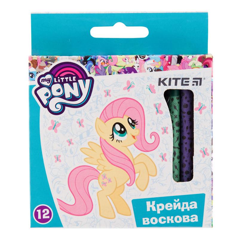 Олівці воскові, 12 кольорів, Kite My Little Pony LP19-070