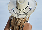 Шляпа женская с надписью, фото 3