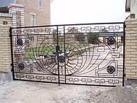 Кованые ворота art:03kv76