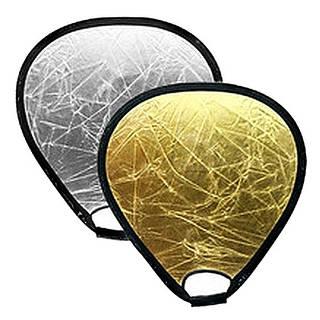 Отражатель треугольный Mircopro TR-051 silver-gold 80 см (TR-051_80)