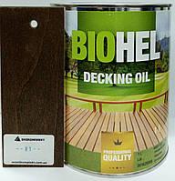 BIOHEL DECKING OIL масло для террас 1 л. №81 - ПОЛИСАНДР.