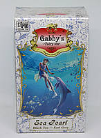 Черный чай Gabbi`s в картонной пачке «Жемчужина моря» - Бергамот 100 гр.