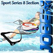 Фал c рукояткой Jobe Sport Series 8 Section для водных лыж, 211117026