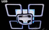 Светодиодная люстра с пультом ДУ 155w 8060/4+1
