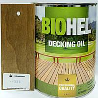 BIOHEL DECKING OIL масло для террас 1 л. №330 - ЗОЛОТО.