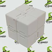 Кубик антистресс Infinity Cube белый , фото 1