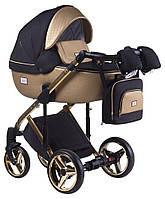 Детская универсальная коляска 2 в 1 Adamex Luciano Polar Gold Y828