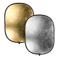 Отражатель Mircopro RP-026 gold-silver 90х180 см (RP-026_90180)
