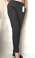Женские брюки летние 216 (42 44 46 48) (цвет черный) СП