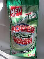 Стиральный порошок Power Wash Original 10 КГ.