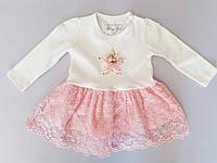 Платье для девочки тм Breeze звездочка 74 размер