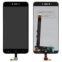 Дисплей LCD Xiaomi Redmi Note 5a + touch Black Original