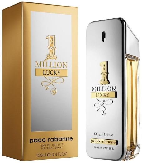 Paco Rabanne 1 Million Lucky - Туалетная вода для мужчин 100 мл