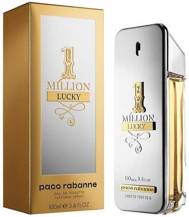 Paco Rabanne 1 Million Lucky - Туалетная вода для мужчин 100 мл, фото 2