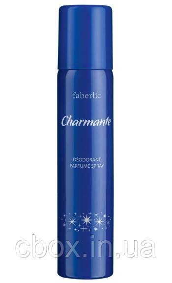 Парфюмированный дезодорант спрей для тела Charmante, Faberlic, Шармант, Фаберлик, 3510, 75 мл