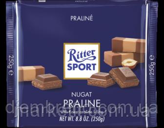 Шоколад Ritter Sport, Риттер Спорт Пралине, 100 г. Германия