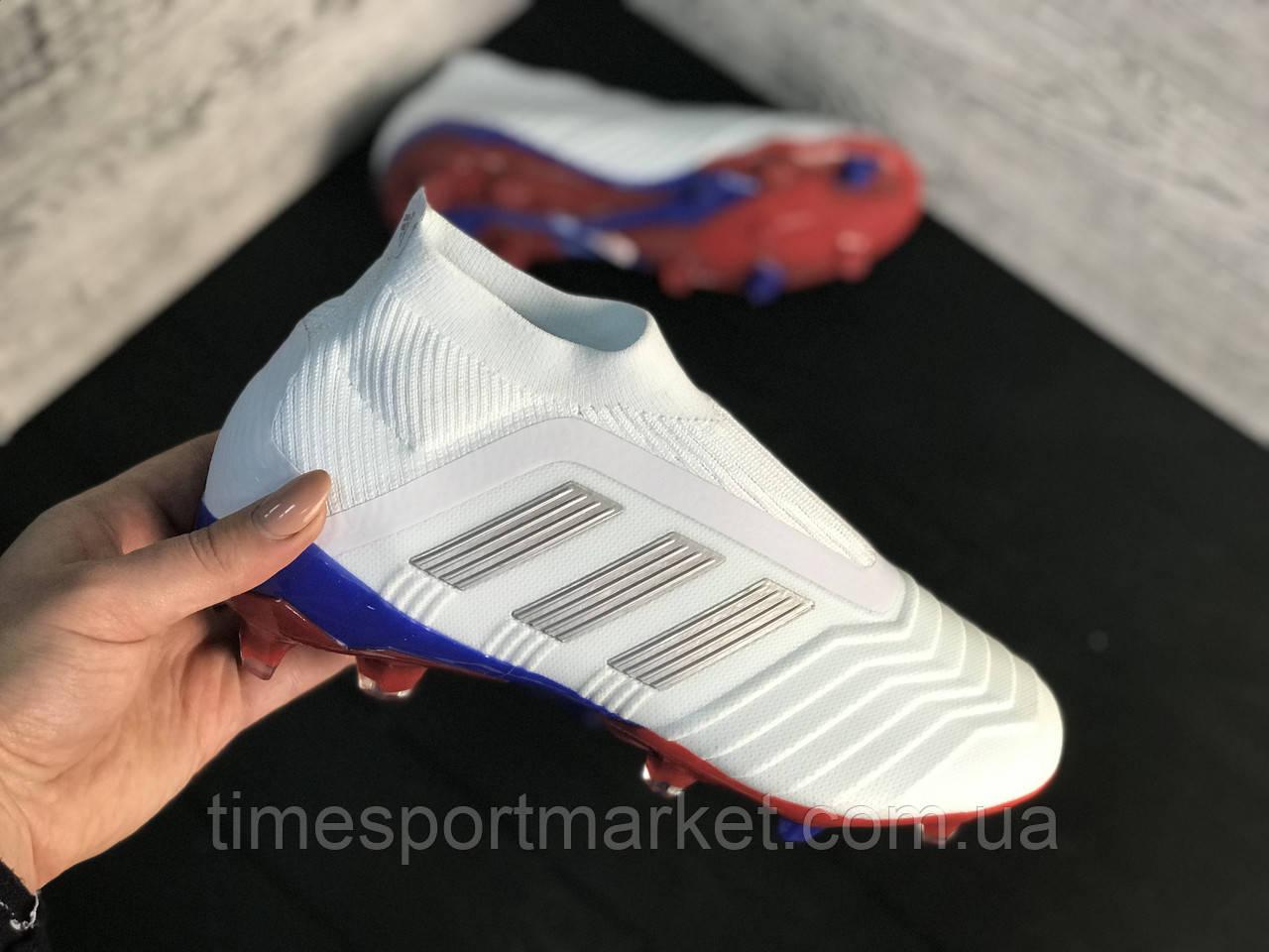 Бутсы Adidas Predator 18+FG (реплика)