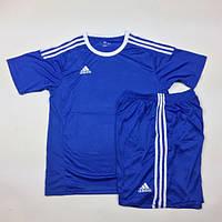 Футбольная форма игровая Adidas (Адидас синяя), фото 1