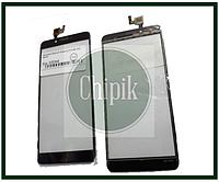 Сенсорный экран (тачскрин) для телефона DOOGEE X60L, Черный
