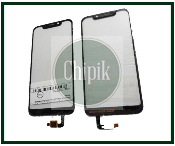 Сенсорный экран (тачскрин) для телефона Blackview A30, черный