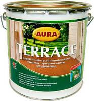 Aura Wood Terrace (Аура Террасное масло) коричневая 9л