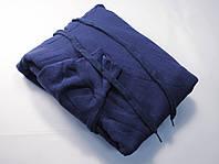 Классическое мужское худи с капюшоном Тёмно-синее размер S 62-208-32