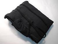 Классическое мужское худи с капюшоном Чёрное размер S 62-208-36