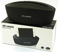 Atlanfa AT-7755, Bluetooth колонка c подставкой, FM, MP3 microSD USB AUX