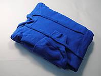 Классическое мужское худи с капюшоном Ярко-синее размер S 62-208-51