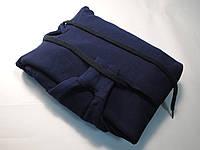 Классическое мужское худи с капюшоном Глубоко тёмно-синий размер S 62-208-AZ