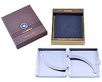 Портсигар в подарочной упаковке (Кожа, на 20 шт)