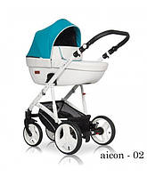 Детская универсальная коляска 2 в 1 Riko Aicon - 02