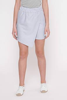 Юбка- шорты  женские Татьяна Филатова модель 242  голубые