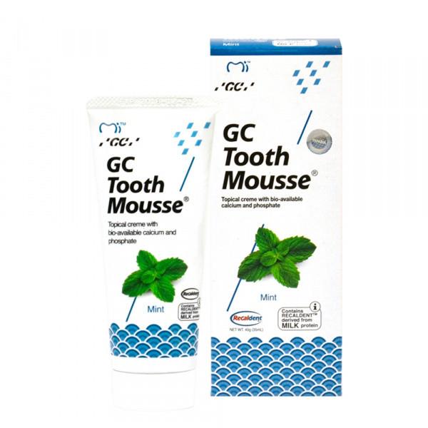 Крем для реміналізації GC Tooth Mousse - 35 г, м`ята