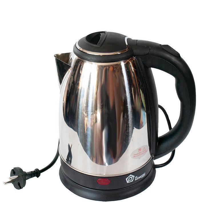 Чайник электрический электрочайник  DOMOTEC MS-5003 2L 1500W дисковый  нержавейка