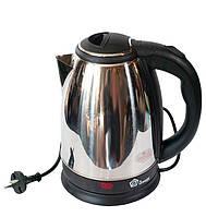 Чайник электрический электрочайник  DOMOTEC MS-5003 2L 1500W дисковый  нержавейка, фото 1