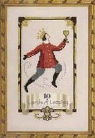 Схема для вышивки Ten Lords A Leaping Nora Corbett Designs