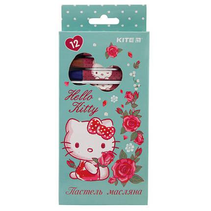 Пастель масляная, 12 цветов, Kite Hello Kitty HK19-071, фото 2