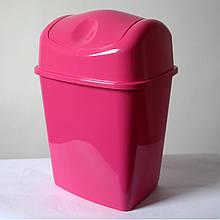 Ведро для мусора с поворотной крышкой 10 л
