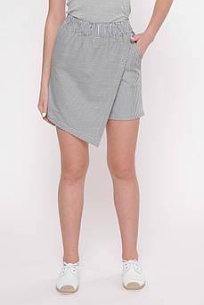Юбка- шорты  женские Татьяна Филатова модель 242  черно белые