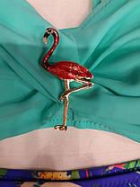 Детский и подростковый купальник Фламинго мята 31812 на 32 34 размеры., фото 2
