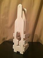 Упаковка из дерева для бутылки