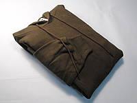 Классическое мужское худи с капюшоном Шоколадное размер L 62-208-CQ