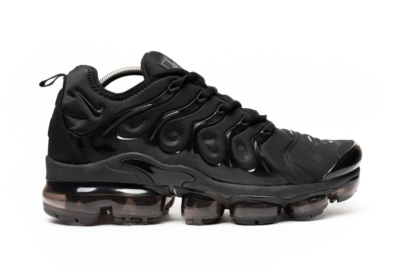 Кроссовки мужские Nike Air Vapormax Plus black. ТОП качество!!! Реплика